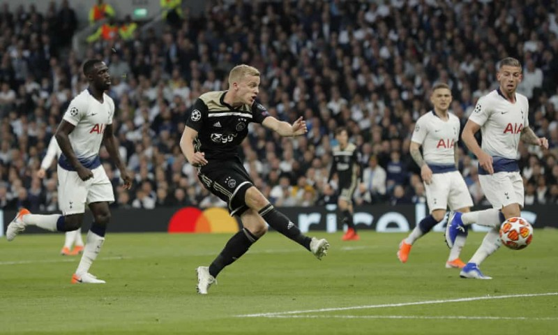 Tottenham 0-1 Ajax Amsterdam: Ajax giành lợi thế lớn