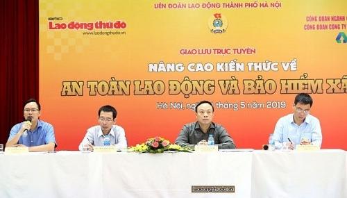 Bảo hiểm xã hội TP Hà Nội: Kịp thời giải đáp những vướng mắc trong thực hiện chính sách