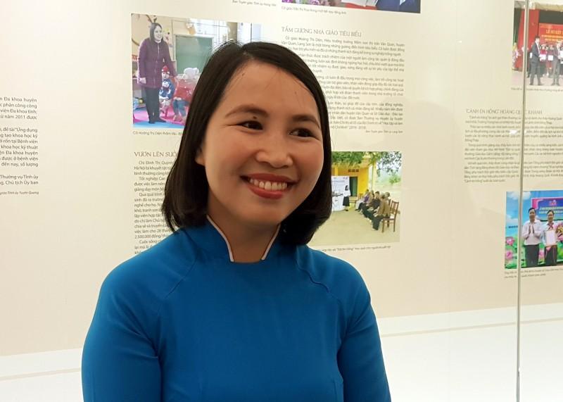 Cô giáo trẻ với giấc mơ toàn cầu