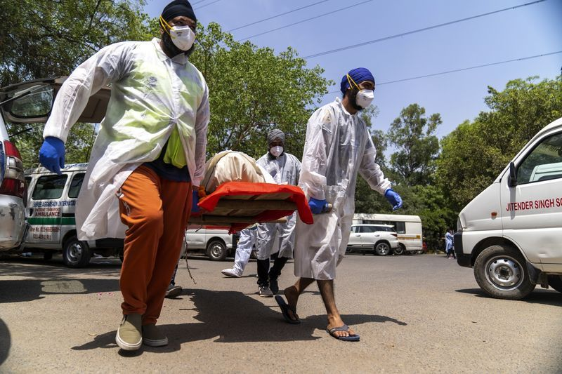 Ấn Độ: Nguy cơ số người tử vong vì Covid-19 tăng gấp đôi trong những tuần tới