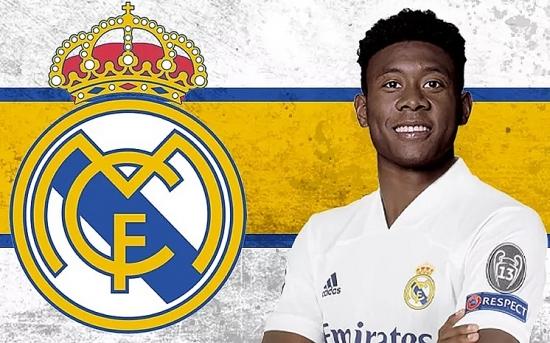Real Madrid chính thức chiêu mộ thành công David Alaba