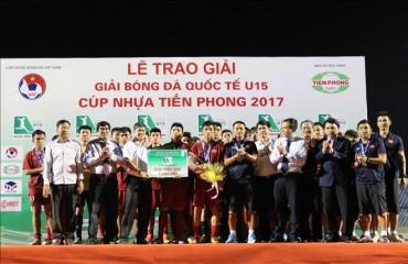 U15 Việt Nam hụt chức vô địch tại giải U15 quốc tế 2017