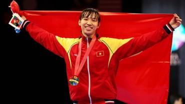 Kim Tuyền tạo nên lịch sử cho Taekwondo Việt Nam