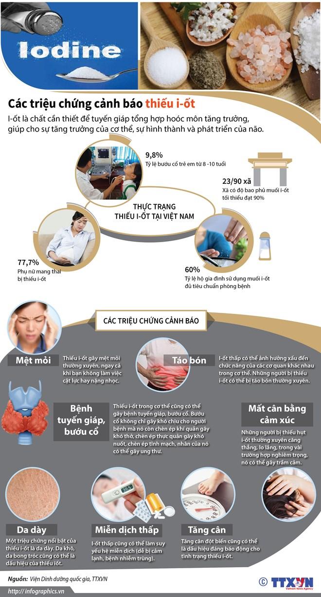 infographics cac trieu chung canh bao co the dang thieu iot