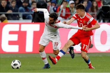 Hòa Thổ Nhĩ Kỳ, đội chủ nhà World Cup đã trải qua 7 trận không thắng