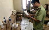 Phát hiện kho mỹ phẩm giả mạo tại Hà Nội