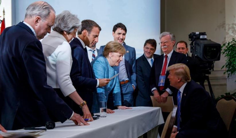 Ông Trump bỏ ngang G7, đến thẳng Singapore chuẩn bị hội nghị thượng đỉnh với Triều Tiên