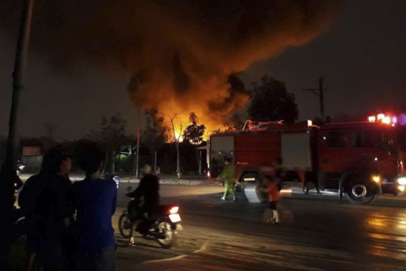 An toàn cháy nổ tại các làng nghề