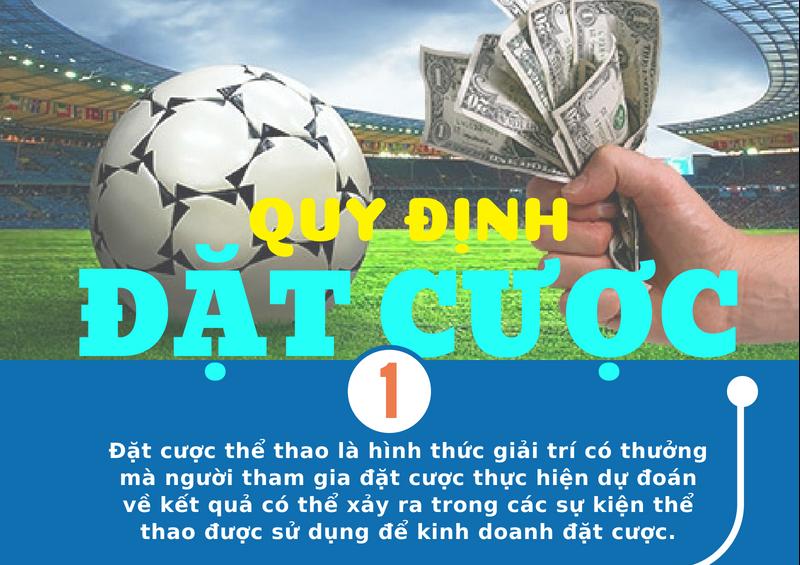 Infographic: Đặt cược thể thao ở Việt Nam quy định trả thưởng như thế nào?