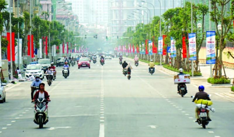 Chất lượng không khí Thủ đô ngày 17/7 cải thiện đáng kể