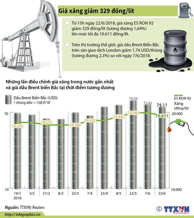 infographics nhin lai nhung lan dieu chinh gia xang dau gan day