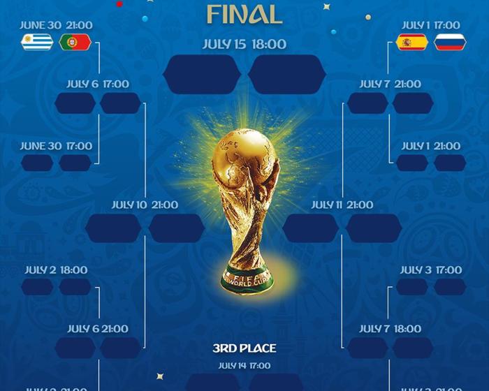Lộ diện hai cặp knock-out đầu tiên ở vòng 1/8 World Cup 2018