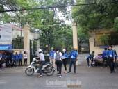 Các thí sinh bước vào ngày thi cuối cùng của kỳ thi THPT Quốc gia