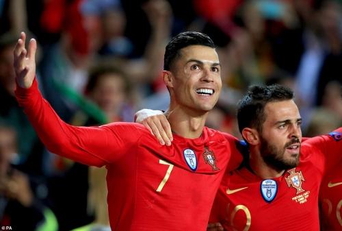 Hat-trick của Ronaldo đưa Bồ Đào Nha vào chung kết Nations League