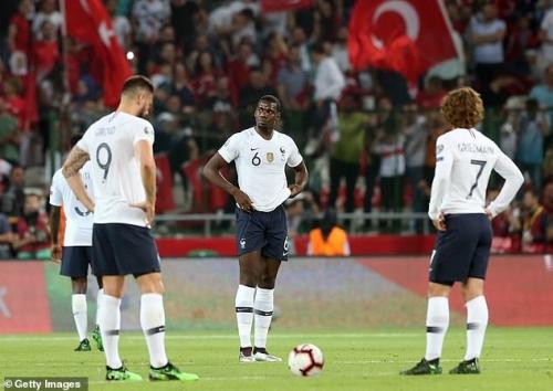 Thổ Nhĩ Kỳ 2-0 Pháp: Đương kim vô địch thế giới sa lầy trên đất khách