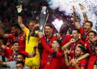 Bồ Đào Nha trở thành nhà vô địch Nations League đầu tiên