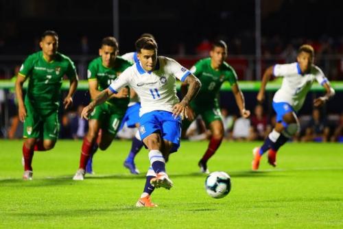 Brazil 3-0 Bolivia: Coutinho tỏa sáng giúp Brazil vượt ải ngày mở màn