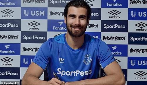 Andre Gomes chính thức thuộc về Everton