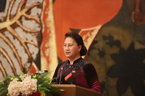 Chủ tịch Quốc hội Nguyễn Thị Kim Ngân gặp mặt đại biểu người làm báo tiêu biểu