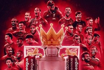 Liverpool chính thức vô địch Premier League