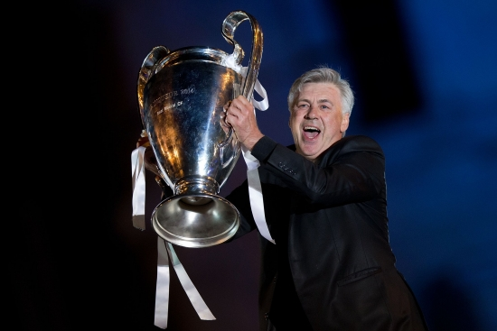 Real Madrid bổ nhiệm Carlo Ancelotti làm