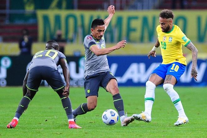 Video Brazil - Ecuador: Neymar tỏa sáng, kịch tính VAR dài 10 phút - 1