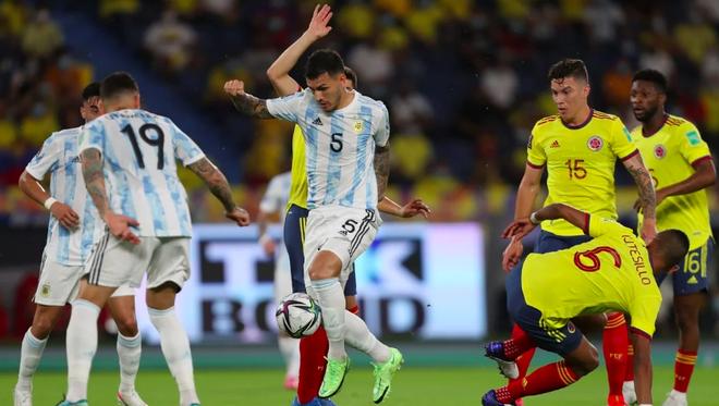 Colombia 2-2 Argentina: Chia điểm đáng tiếc