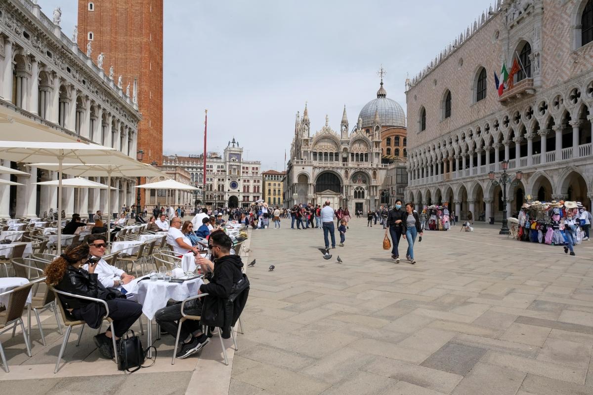 Italy đã mở cửa du lịch quốc tế. Nguồn: Reuters