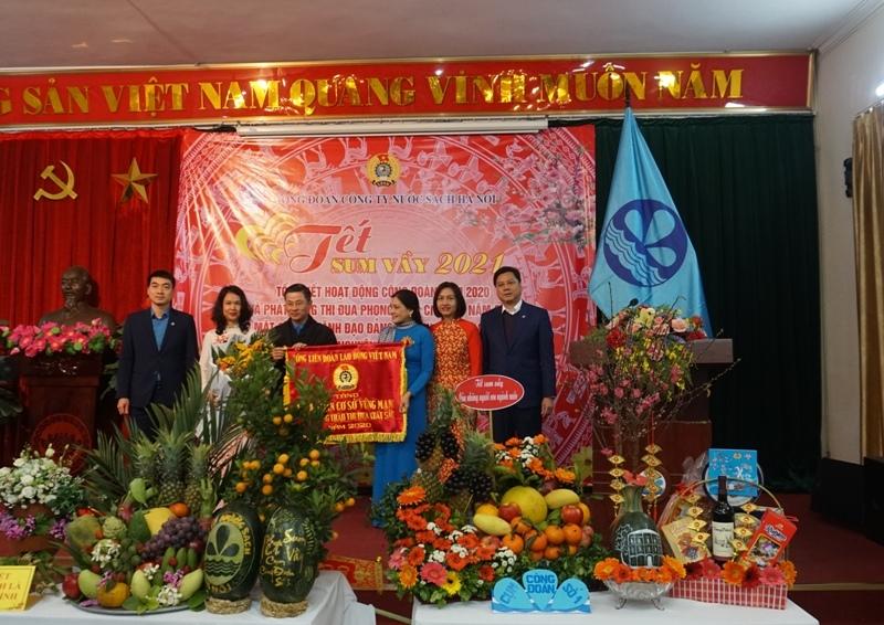 Công ty nước sạch Hà Nội tổng kết hoạt động công đoàn năm 2020, phát động thi đua năm 2021