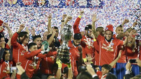 Chile 0-0 Argentina (pen 4-1): Chile vô địch Copa America