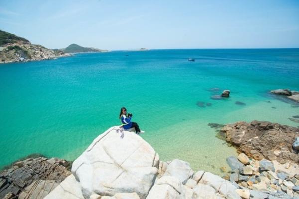 Những bãi biển đẹp đến nao lòng của Nam Trung Bộ.