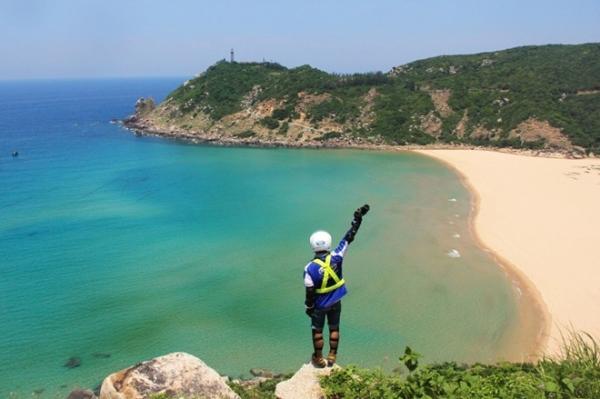 Những hình ảnh này được 40 bạn trẻ tham gia vào chương trình phượt xuyên Việt Yamaha Blue Core Touring 2015 ghi lại.