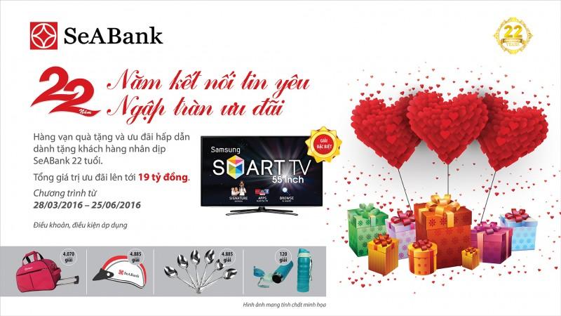 Khách hàng trúng thưởng đợt 3 chương trình của SeABank