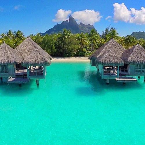 Bí mật ngạc nhiên về thiên đường nhiệt đới Bora Bora