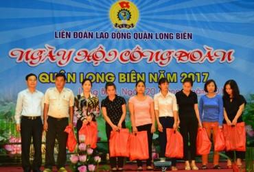 LĐLĐ quận Long Biên: Bám cơ sở để làm tốt nhiệm vụ