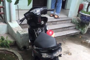CSGT bắt nóng tên trộm chiếc xe máy đã được định vị