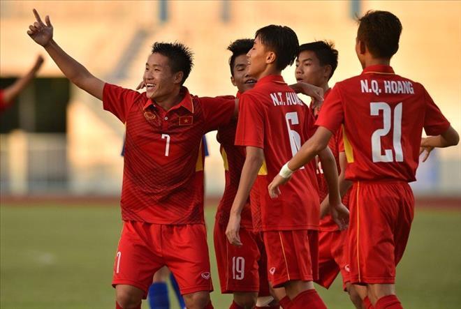 U15 Việt Nam đoạt vé sớm vào bán kết
