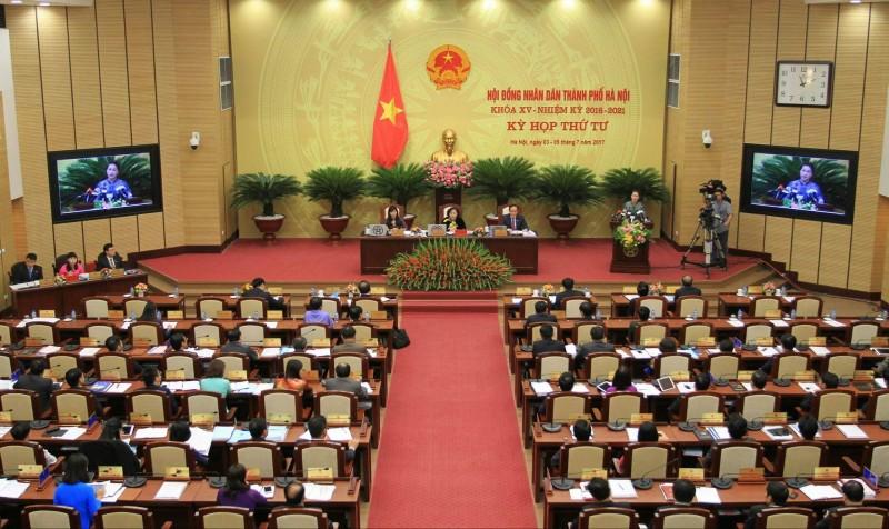 Chủ tịch HĐND TP Hà Nội ký ban hành 16 nghị quyết