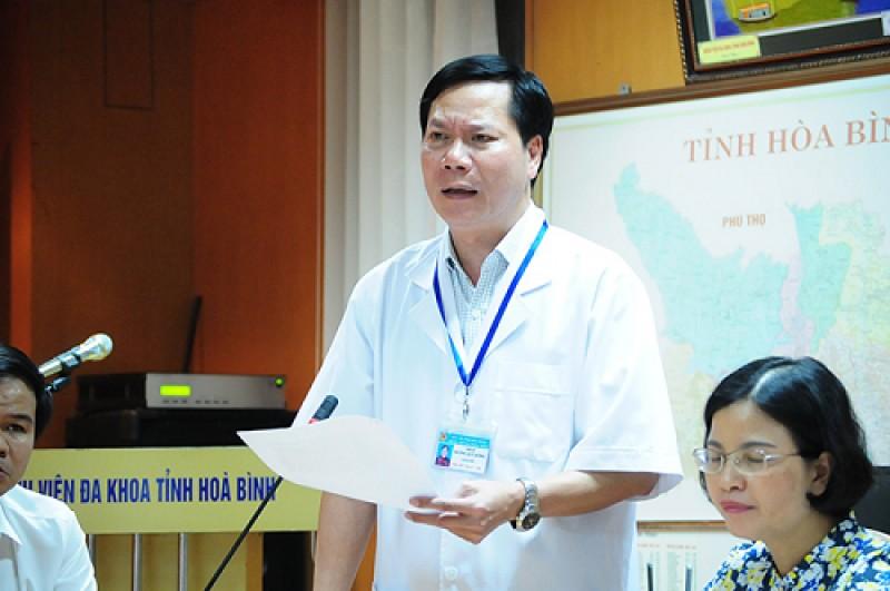 Giám đốc Bệnh viện đa khoa Hoà Bình xin từ chức sau sự cố tai biến chạy thận