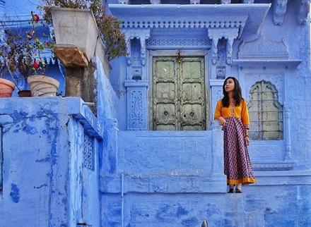 Lạc lối trong thành phố xanh bất tận Jodhpur