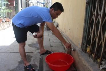 Người dân lao đao, vì thiếu nước