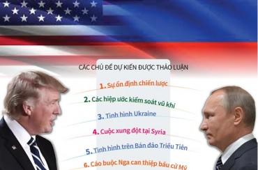 Hội nghị thượng đỉnh Nga-Mỹ tập trung vào nhiều vấn đề ''nóng''