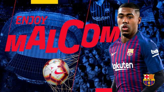 Malcom lật kèo, Barcelona bất ngờ sở hữu tân binh chất lượng