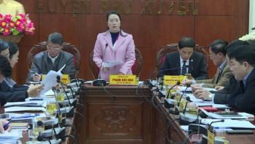 Huyện Phú Xuyên: Đột phá trong công tác cán bộ