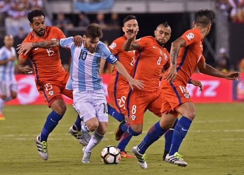 Argentina - Chile: Cuộc chiến vì danh dự