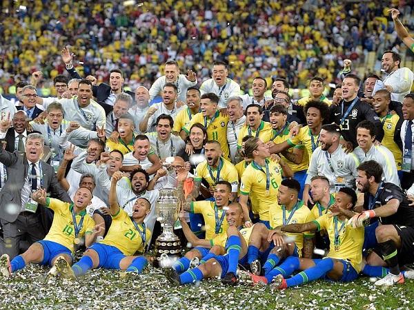 Brazil 3-1 Peru: Thi đấu thiếu người, Brazil vẫn lên ngôi vương tại Copa America 2019