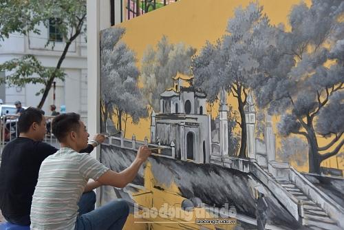 Kỳ 2: Hương sắc Hà Thành qua hội họa
