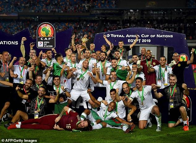 algeria dang quang giai vo dich cac quoc gia chau phi can 2019