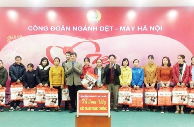 Công đoàn ngành Dệt - May Hà Nội: 10 năm xây dựng và trưởng thành