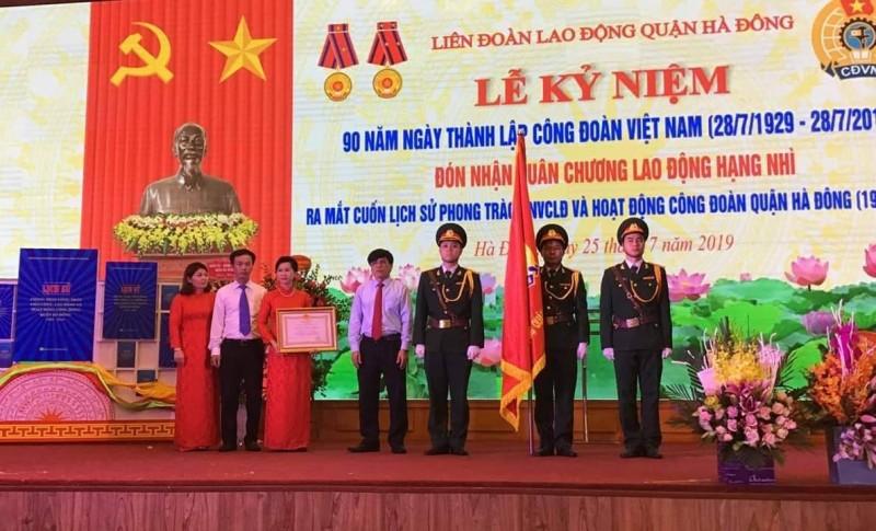 LĐLĐ quận Hà Đông tổ chức kỷ niệm 90 năm Ngày thành lập Công đoàn Việt Nam